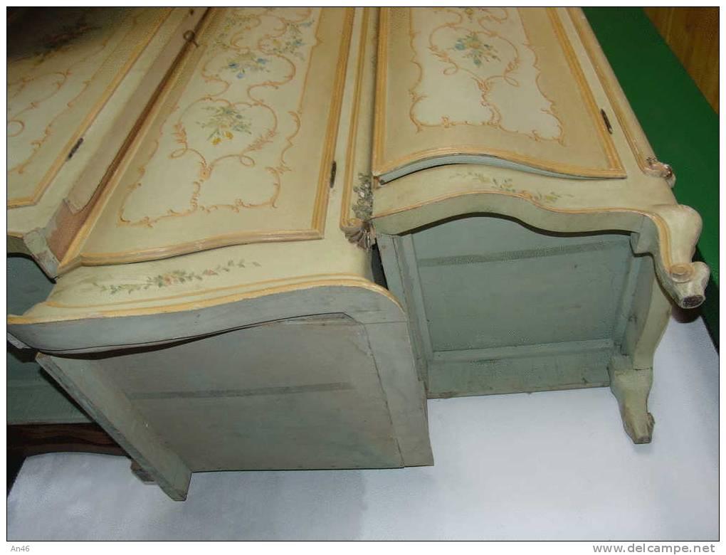 Mobili armadio stile veneziano smontato in tre pezzi - Mobili stile veneziano ...