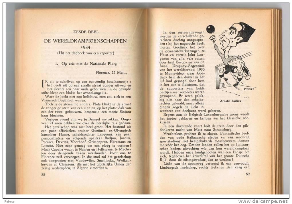 ONZE VOETBAL FIGUREN  DOOR POL JACQUEMYNS  1942 - 208 BLZ - Livres, BD, Revues