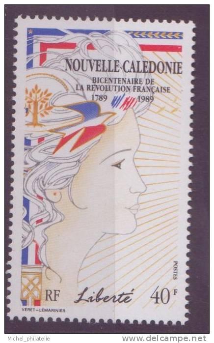 NOUVELLE-CALEDONIE N° 579** NEUF SANS CHARNIERE  LA LIBERTE - Nueva Caledonia