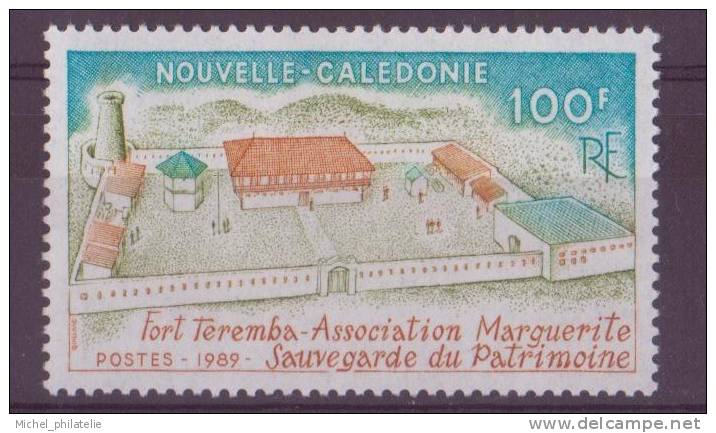 NOUVELLE-CALEDONIE N° 584** NEUF SANS CHARNIERE  FORT TEREMBA - Nuevos