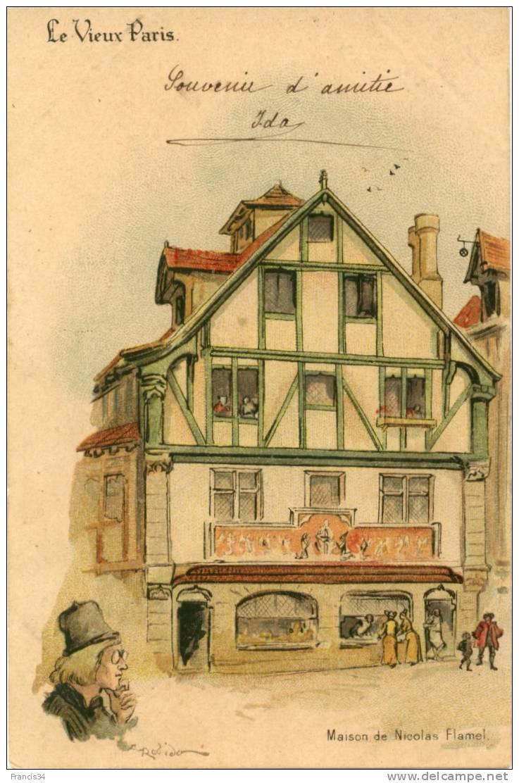 CPA - Paris - Maison De Nicolas Flamel - Le Vieux Paris - Paris (03)