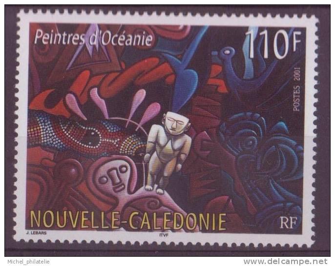 NOUVELLE-CALEDONIE N°846** NEUF SANS CHARNIERE PEINTRE D'OCEANIE - Nueva Caledonia