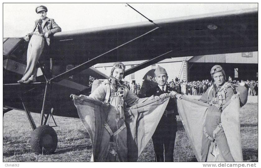 Stinson SM 8-A 1940 Bangor Maine Air Show - Reproduction - Meetings