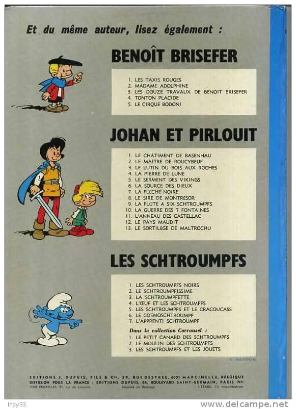- BENOIT BRISEFER N°3 . LES DOUZE TRAVAUX DE BENOIT BRISEFER . DUPUIS  1972 - Benoît Brisefer