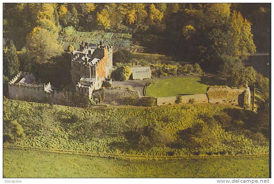 A1244 Bothal Castle /  Viaggiata - Inghilterra