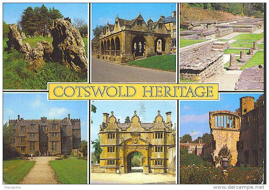 A1246 Cotswold Heritage - Multipla  /  Viaggiata - Non Classificati