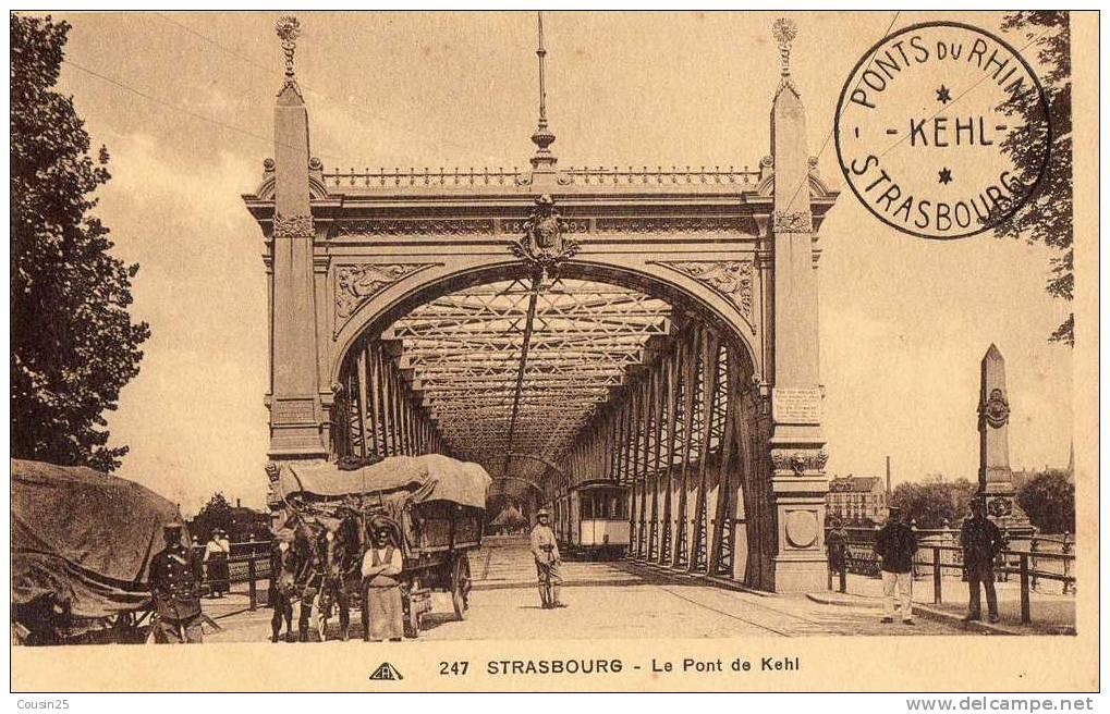 67 STRASBOURG - Le Pont De Kehl - Strasbourg
