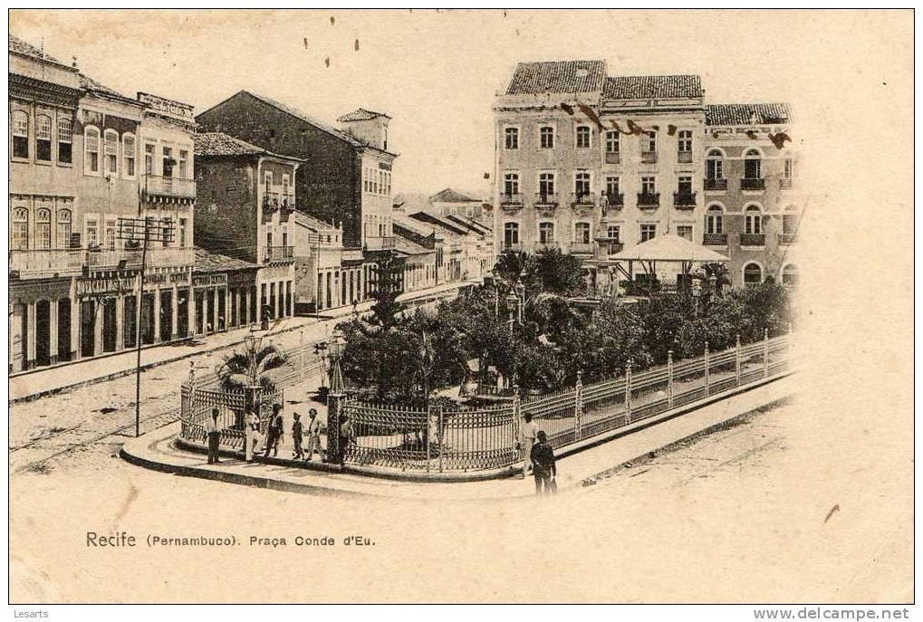 Recife(Pernambuco).Praça Conde D'Eu.Beau Plan. - Recife
