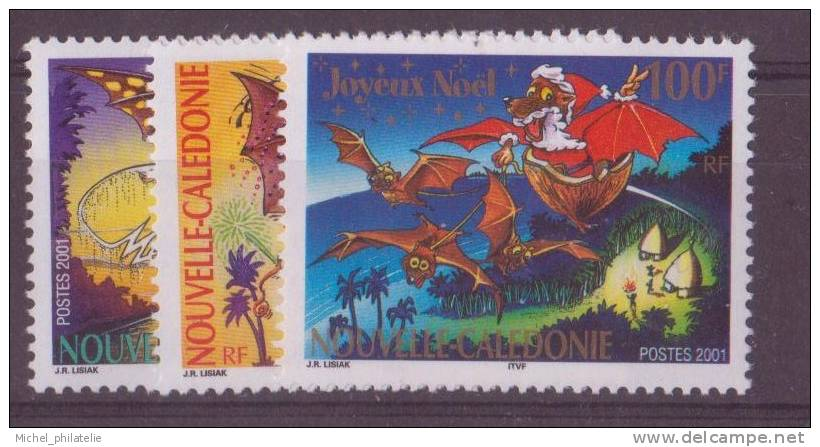 NOUVELLE-CALEDONIE N°860/62** NEUF SANS CHARNIERE  TIMBRES DE SOUHAITS - Nueva Caledonia