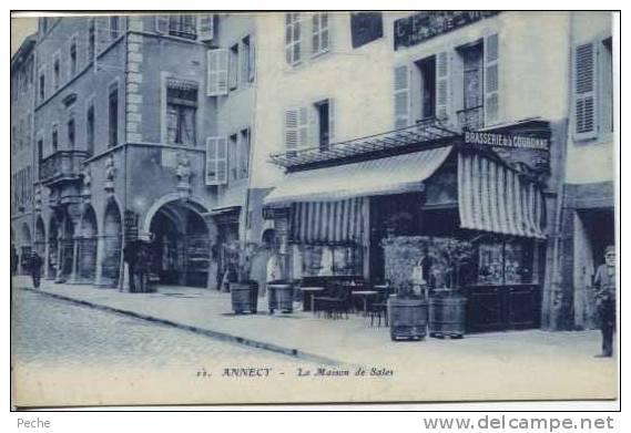 N°6272 -cpa Annecy -la Maison De Sales- - Annecy