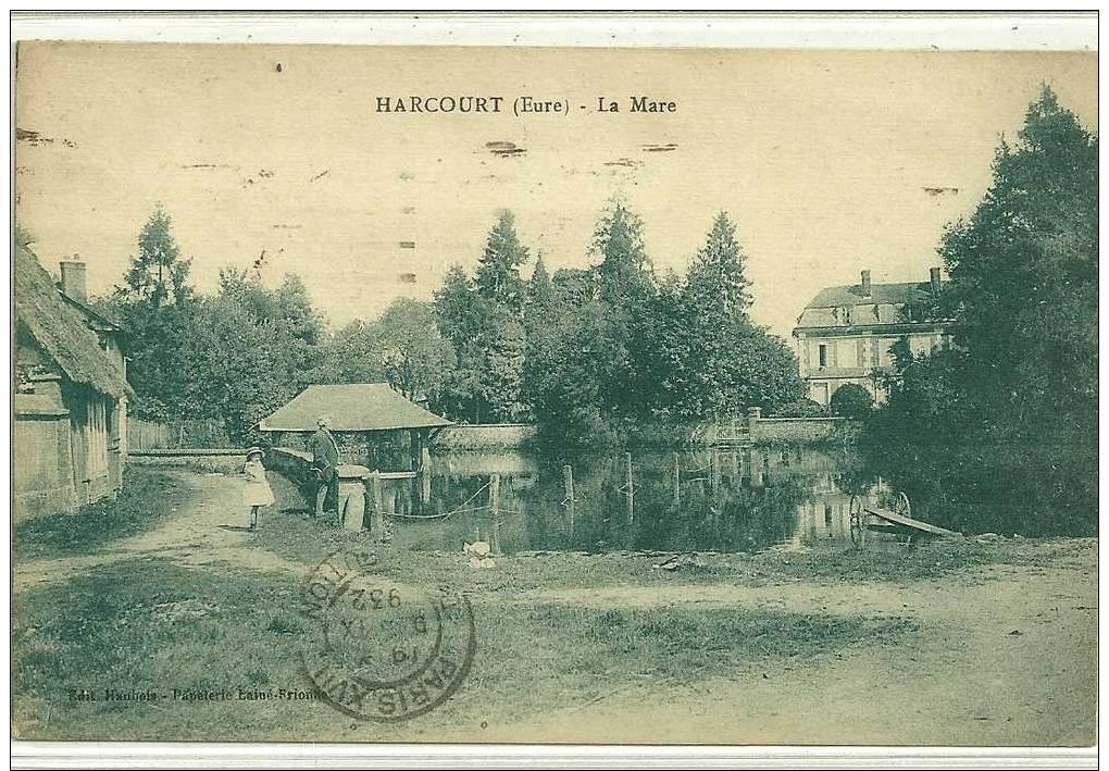 HARCOURT  LA MARE  PERSONNAGES - Harcourt