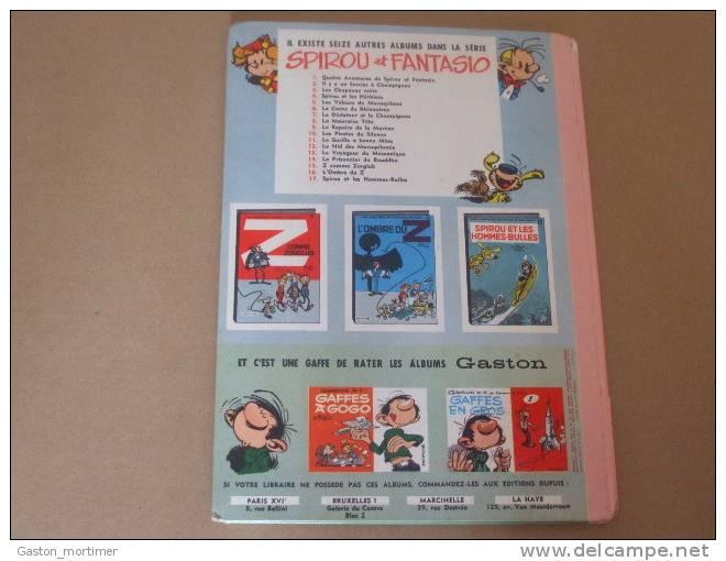 Spirou Et Fantasio - Franquin - Tome 12 Dos Rond Rose - 1966 - Spirou Et Fantasio