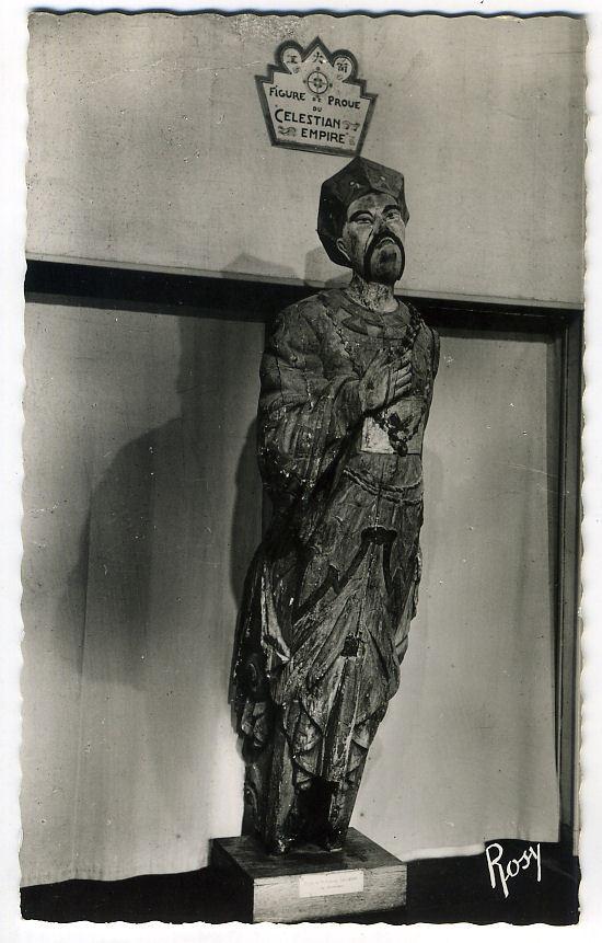 NANTES Musée Des Salorges Figure De Proue Du Celestian - Nantes