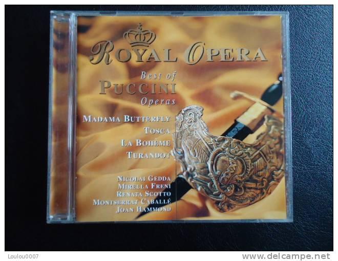 ROYAL OPERA -  BEST OF PUCCINI OPERAS   ** CD ** - Classique