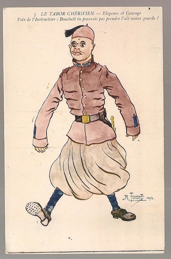 - MAROC -Illustrateur TUGOT 1912 - TABOR  CHERIFIEN .élégance Et Courage ..- Superbe Et Excellent é - Autres Illustrateurs