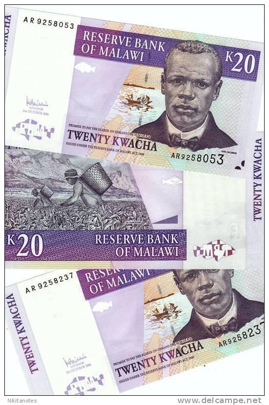 Malawi - 20 Kwacha 2004 UNC - Malawi