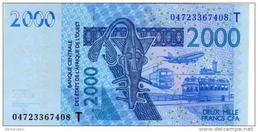 Togo West African St 2000 Francs 2003 UNC - Togo