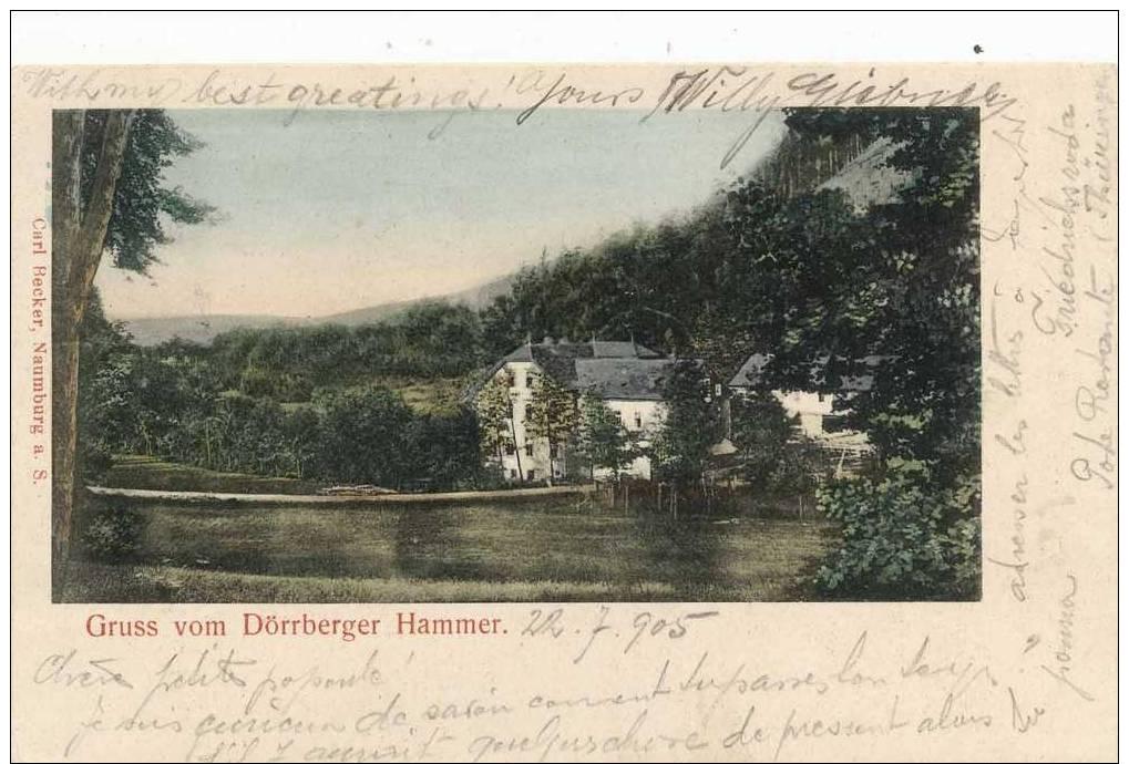 Allemagne - Gruss Vom Dorrberger Hammer - Allemagne