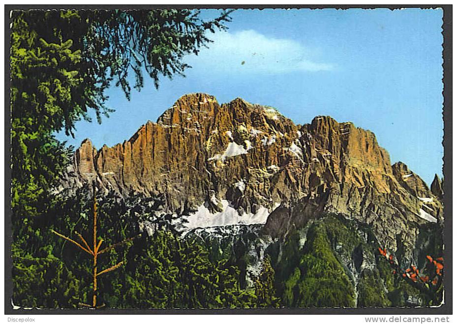 A1562 Dolomiti - Monte Civetta / Viaggiata 1957 - Italia