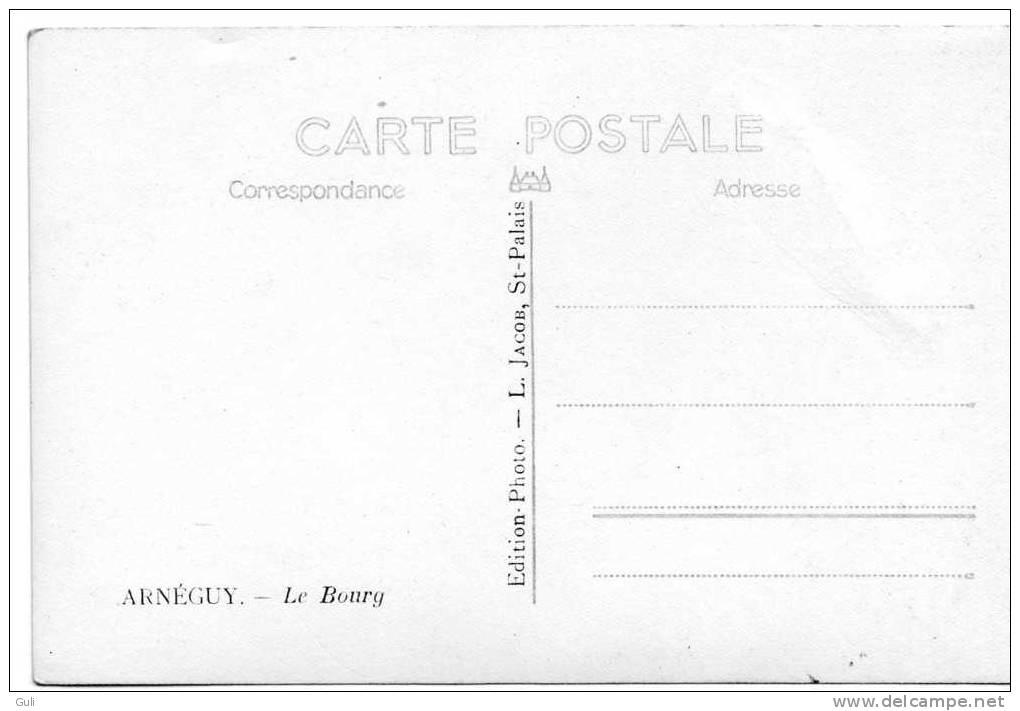 ARNEGUY - 64 Pyrénées Atlantiques- Le Bourg -Cpsm - Editions:  Photo L- Jacob*PRIX FIXE - France