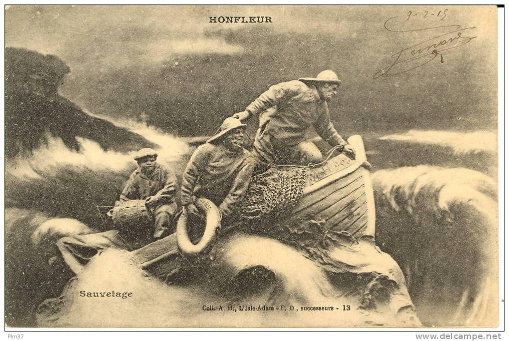 HONFLEUR - Sauvetage - Honfleur
