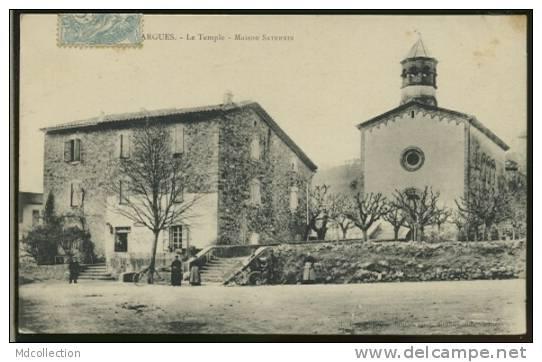 30 GALLARGUES LE MONTUEUX / Le Temple, Maison Saturnin / - Gallargues-le-Montueux