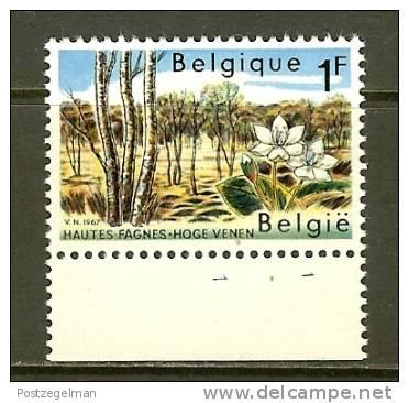 BELGIUM 1967 MNH Stamp(s) Nature 1468 1 Value Only - Belgium