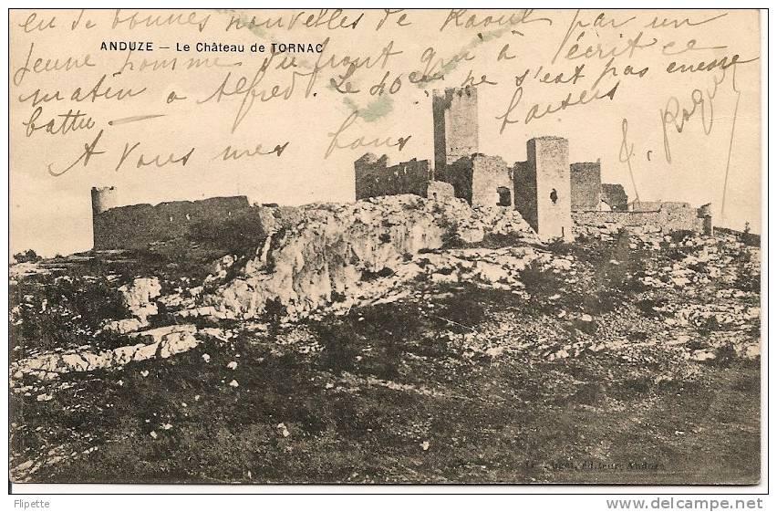 L120.375 - 30 - Anduze - Le Château De Tornac - - Anduze