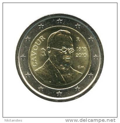 "Italy 2010 2 Euro ""Camillo Benso Cavour"" UNC - Italy"