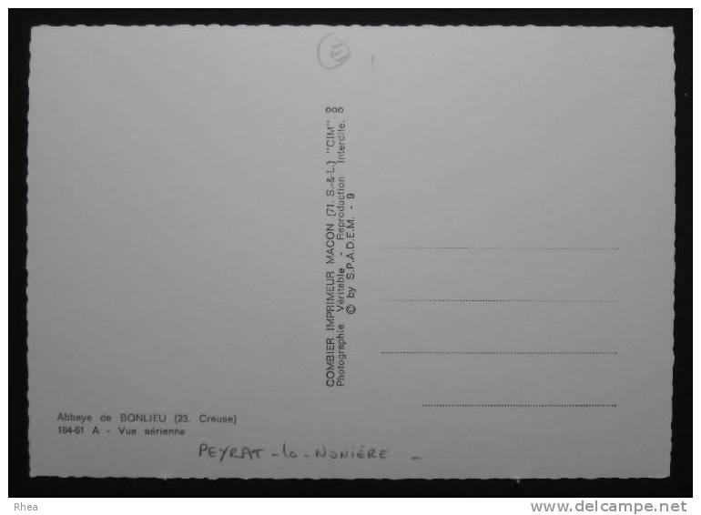 23 Peyrat-la-Nonière Vue Aerienne Chateau D23D K23061K C23151C RH031130 - France