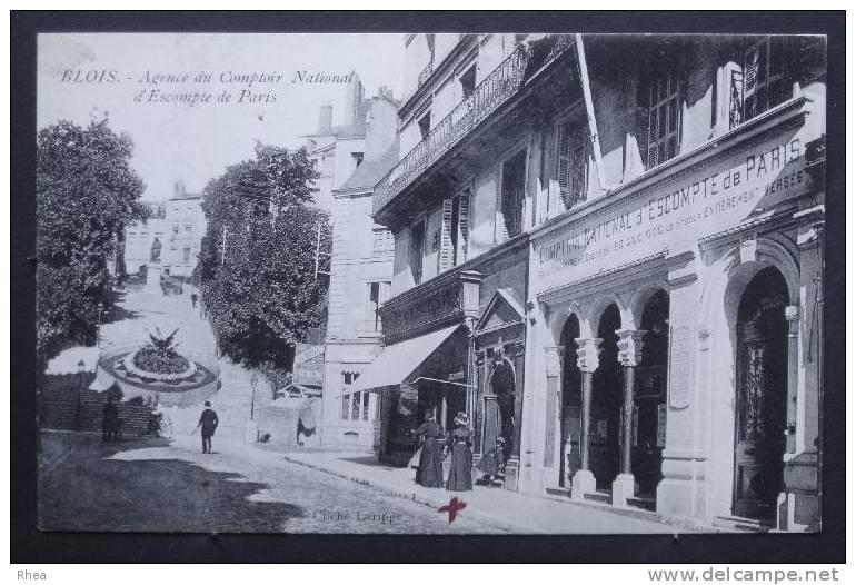 41 Blois Banque Comptoir D'escompte D41D K41018K C41018C RH033764 - Blois
