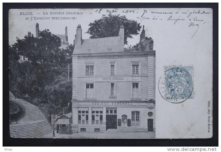 41 Blois Banque Societe Generale D41D K41018K C41018C RH033765 - Blois