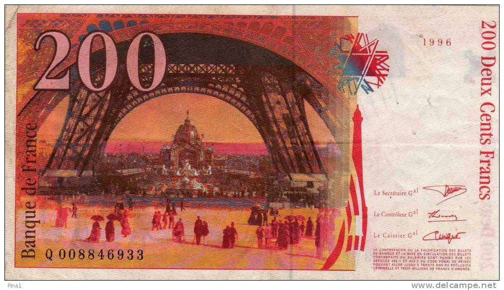 200 F 1995-1999 ''Eiffel'' - Delcampe.net