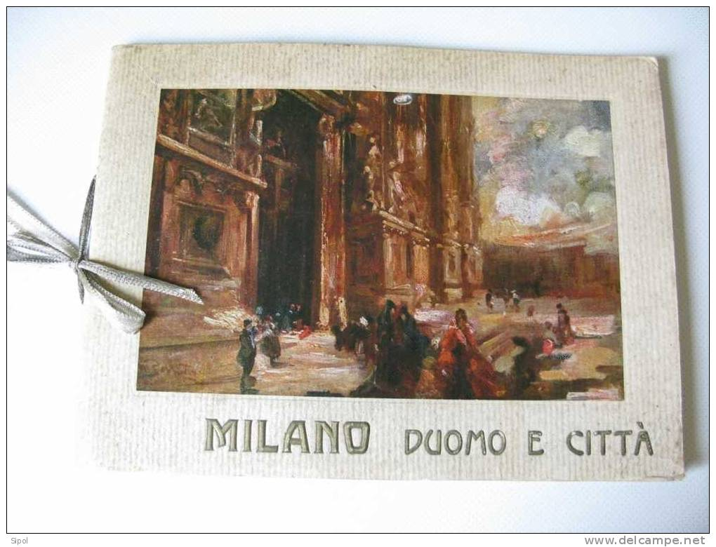 Milano Duomo E Citta - Album Di 24 Vedute - Fabrica Del Duomo Milano - Arts, Architecture