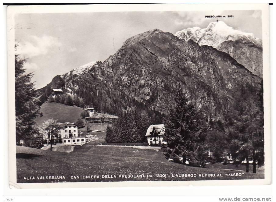 LOMBARDIA - Bergamo - Valle Seriana- Cantoniera Della Presolana - Albergo Alpino Al Passo - Bergamo