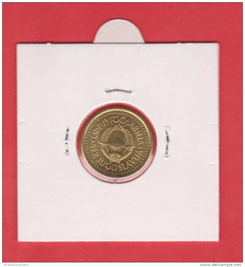 YUGOSLAVIA  10  PARA  1.990   CU  ZN  KM#139  SC/UNC   DL-8194 - Yugoslavia