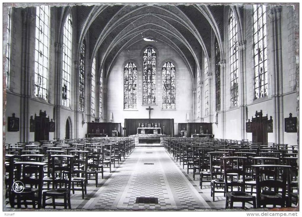 """CP De GODINNE-SUR-MEUSE """" Collège Saint-paul , Chapelle """" . - Yvoir"""