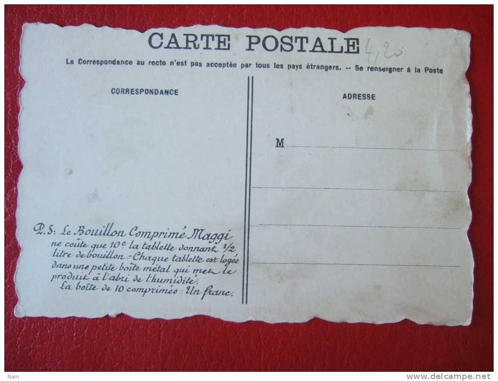 DOLHAIN - LITHO De Rousselet - Pub Maggi - LA VESDRE A DOLHAIN - BELLE CARTE - - Limbourg