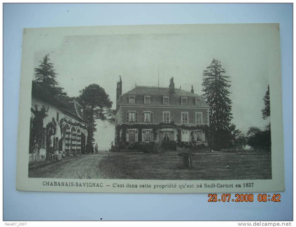 CHABANAIS SAVIGNAC - France