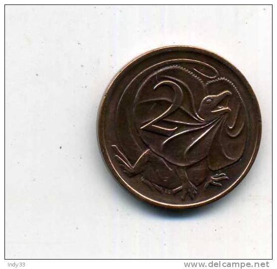 -MONNAIE  AUSTRALIE COMMONWEALTH 1966...  . 2 C. 1977 - Moneda Decimale (1966-...)