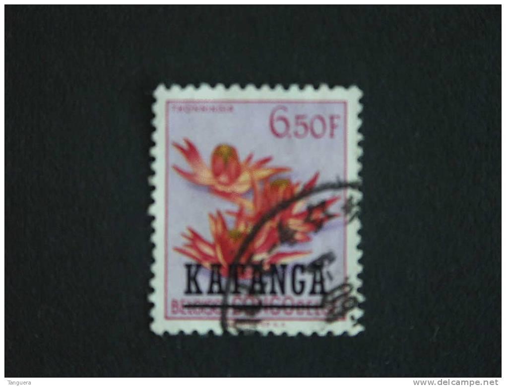 Katanga 1961 Bloem Fleur Thonningia Yv 36 O - Ohne Zuordnung