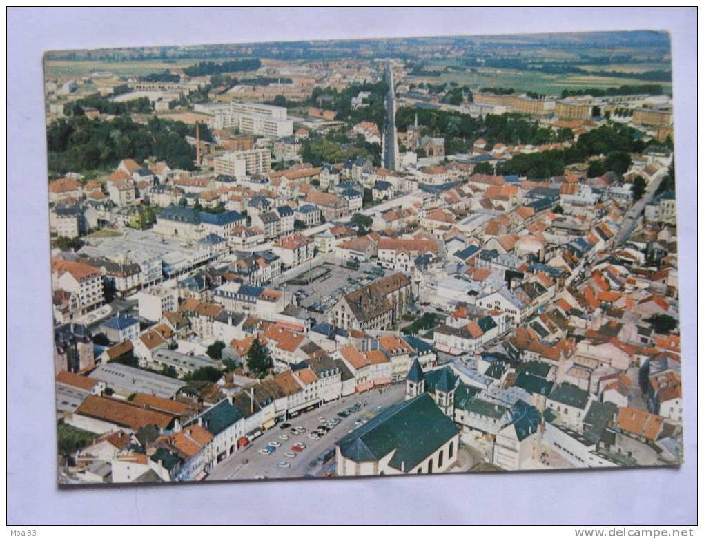 Carte Postale  Ancienne : SARREBOURG : Vue Aérienne - Sarrebourg