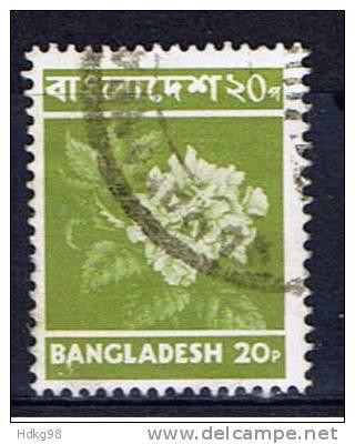 BD Bangladesh 1976 Mi 59-61 Baum, Pflügender Bauer, Blüte - Bangladesch