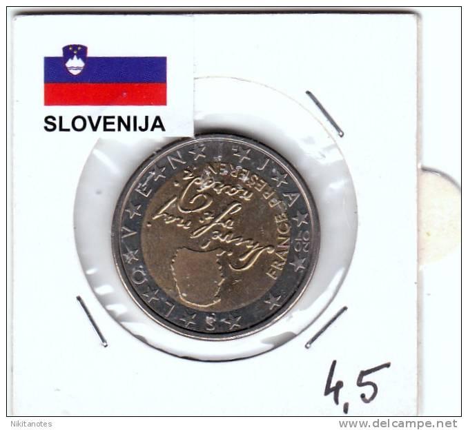 Euro Slovenia 2 Euro 2007 Coin Unc - Slovenia