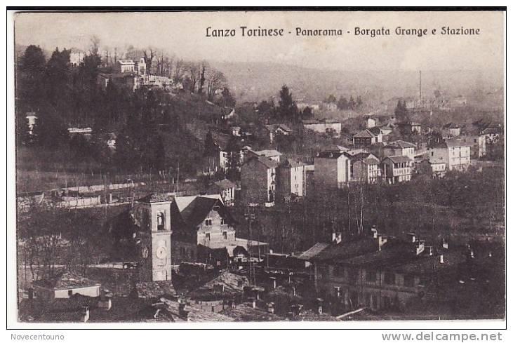 PIEMONTE - TORINO - Lanzo Torinese - Borgata Grange E Stazione - Sin Clasificación