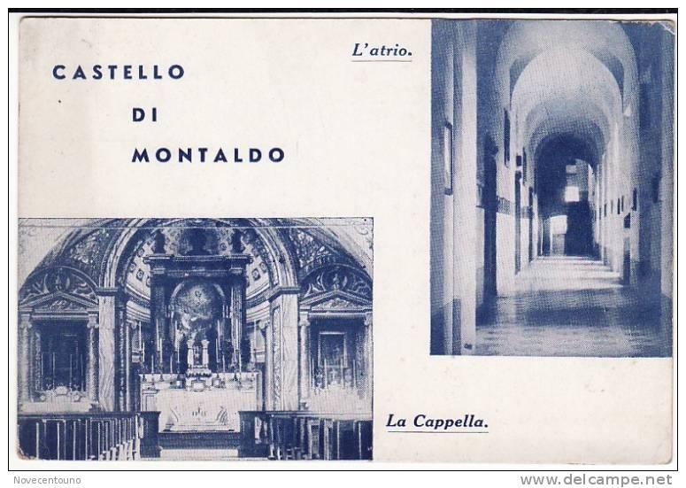 PIEMONTE - TORINO - Montaldo Torinese -Castello  - Vedute - Sin Clasificación