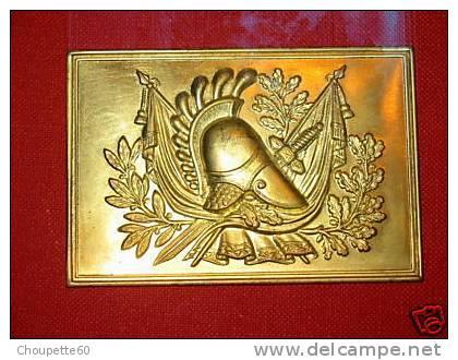 Devant D Plaque De Ceinturon Napoléon - Casques & Coiffures
