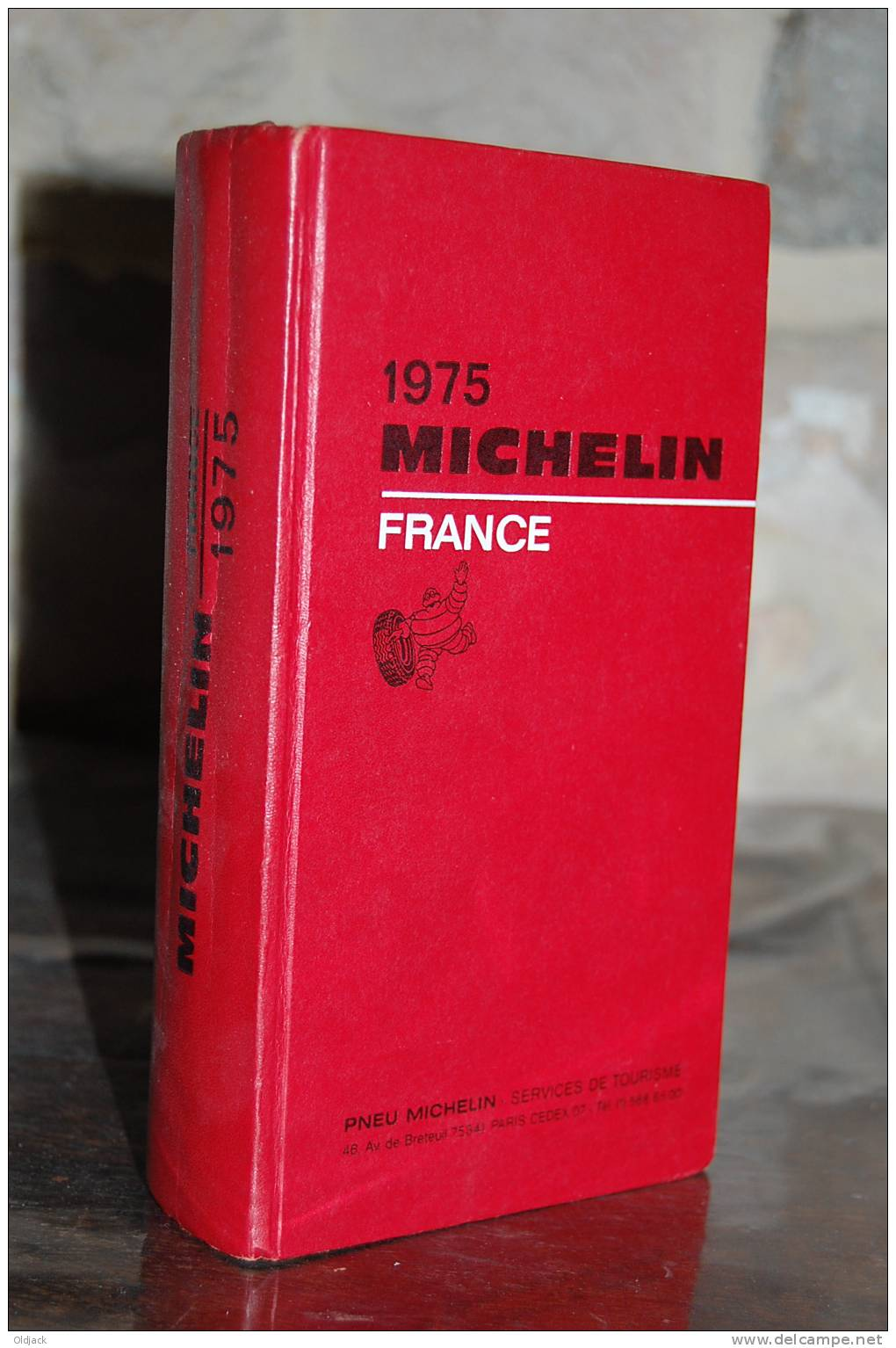 GUIDE MICHELIN France 1975 - Michelin (guides)