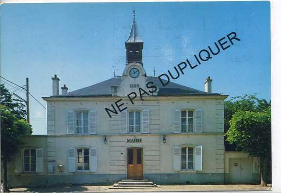 CP95037 - BELLOY EN FRANCE - La Mairie - France