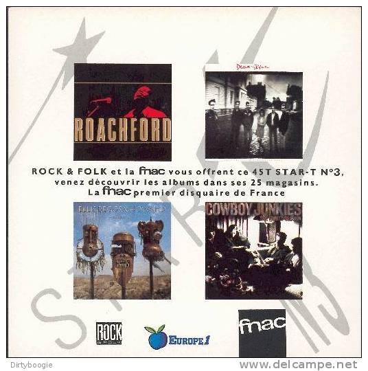ROACHFORD - DEACON BLUE - ELLIS BEGGS AND HOWARD - COWBOY JUNKIES - EP - ROCK & FOLK - FNAC - Hit-Compilations